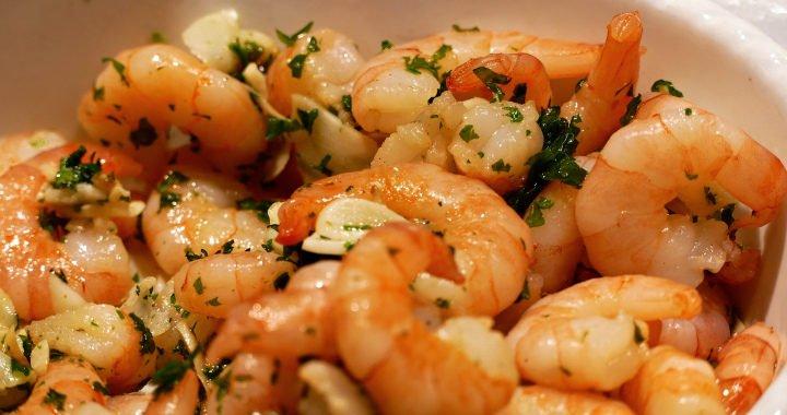 Krevety na česneku - Gambas al Ajillo